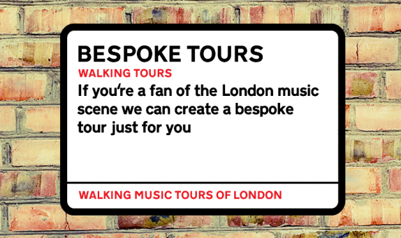 Bespoke – Unique Walking Music Tours of London